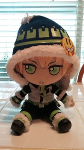 Noiz in plush form!