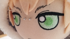 Nice stitching done on the face