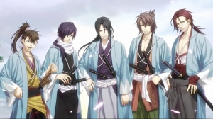 The handsome men of the Shinsengumi!