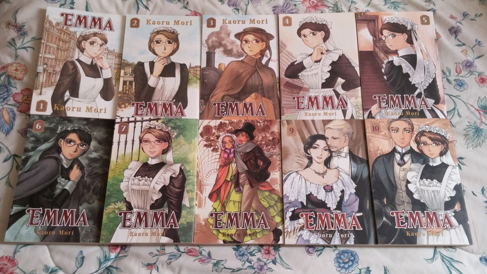 Emma Manga Resurfaces With the Help Of Yen Press! (1/6)