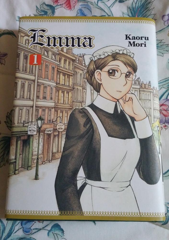 Emma Manga Resurfaces With the Help Of Yen Press! (2/6)