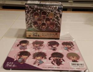 Hakuoki Rubber Strap Set by Kotobukiya!