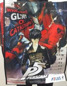 Persona 5 with every purchase!