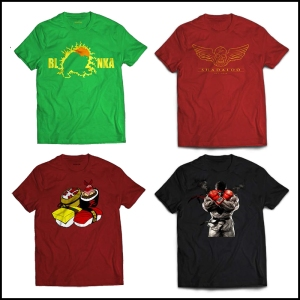 Street Fighter T-shirts!