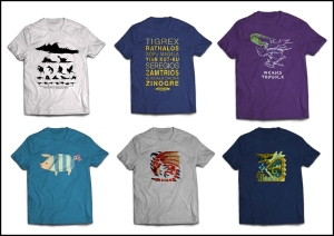 AX-exclusive Monster Hunter T-shirts!