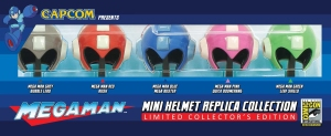 Megaman Mini-Helmets replica!