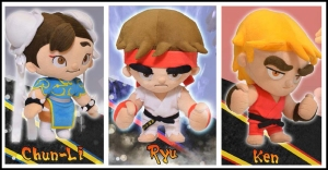 Street Fighter plushies!
