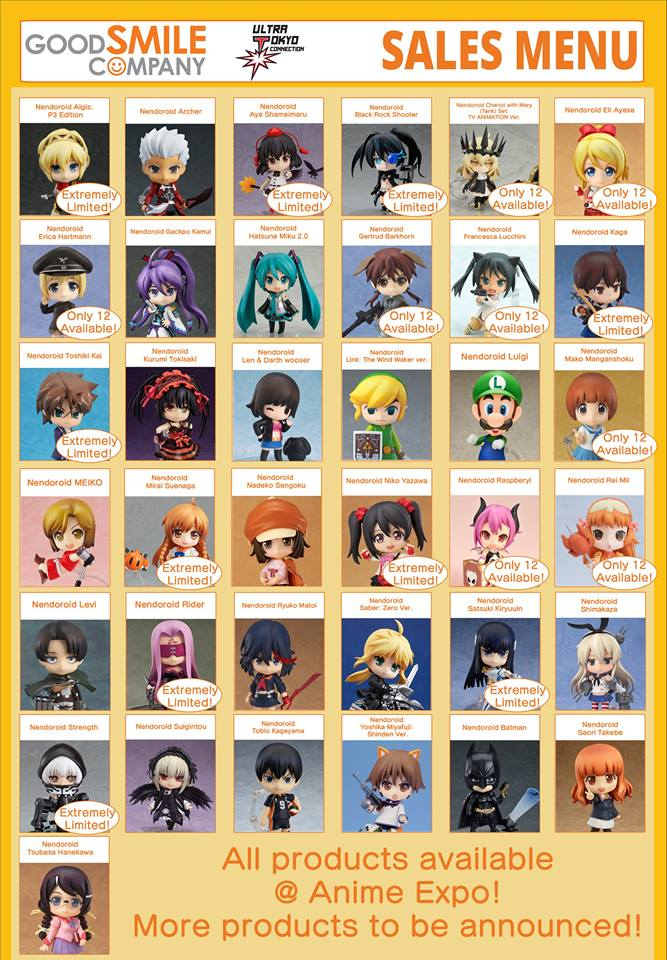 Anime Expo 2015 and Their Exclusives! (2/6)