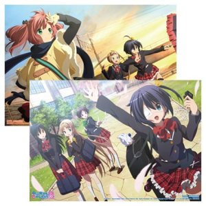 Love, Chunibyo & Other Delusions! -Heart Throb- Plastic Poster Set!