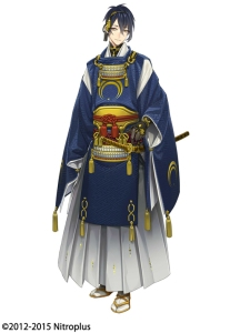 The Mikazuki 1/8 scale figure will be released under the Orange Rouge label