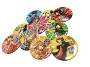 Persona 4 Dancing All Night Pins!