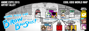 Visit Skullgirls' artists at their booths!