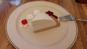 Tofu Cheesecake! My favorite!