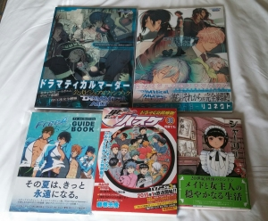Loot from the Kinokuniya shop!
