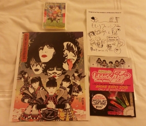 Some goods from the Momoiro Clover Z viewing event!