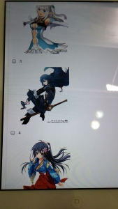Yup, that's Lucina in option #4!