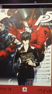 Persona 5 display at Atlus' booth!