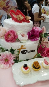 Volrage cake display!