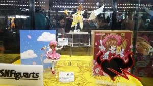 Cardcaptor Sakura SH Figuarts display!