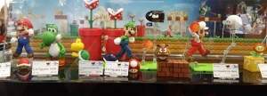 Super Mario Bros. SH Figuarts display!