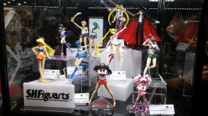 Sailor Moon SH Figuarts display!