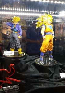 DBZ figure display!