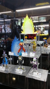 More DBZ SH Figuarts display!