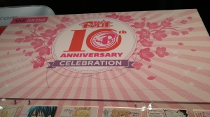 Shojo Beat's 10th Anniversary display!