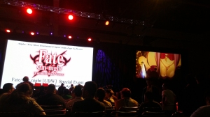 Pretty good view of the Fate/Stay Night UBW event!