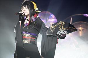 Wagakki Band's vocalist, Yuuko Suzuhana! Photo credit: Wagakki Band on Twitter