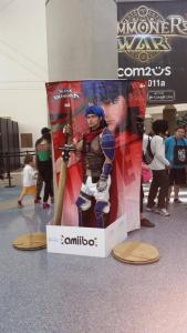 Come and get your Ike Amiibo! Photo credit: Natsu on Twitter