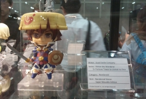 Shiren the Wanderer Nendoroid on display!