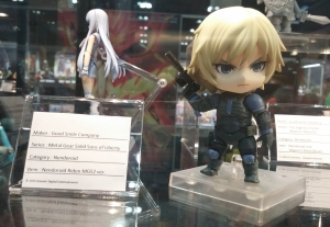Raiden Nendoroid on display!