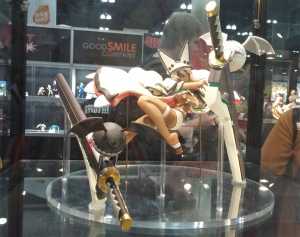 They also had the amazing Ramlethal figure from FREEing on display!