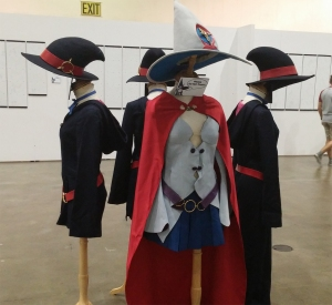 Costumes on display!