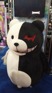Monokuma spotted at the NIS America booth!