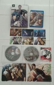Nice post-AX surprise: Hakuouki Reimeiroku Vita LE set!