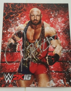 FEED ME MORE! Signed Ryback WWE 2K16 print!