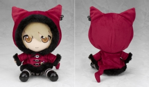 Konoe plush. His CAT HOODIE IS TOO MUCH FOR ME TO HANDLE