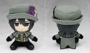Youji Sakiyama plush. I really like the purple roses on his hat!