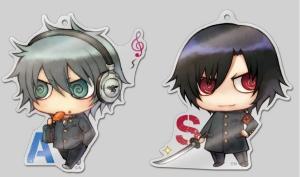 Akira & Shiki acrylic straps