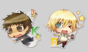 Keisuke & Rin acrylic straps