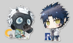 Clear & Ren acrylic straps