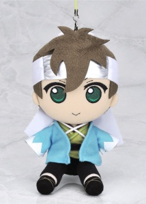 Cheerful Heisuke in plush strap form!