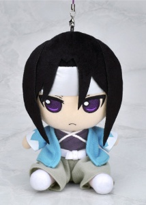 Grumpy pants Hijikata in plush strap form!