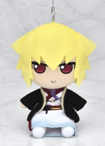 Smug Kazama in plush strap form! (YES 💖)