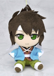Cunning Okita in plush strap form!