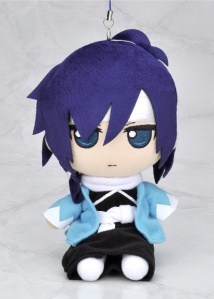 Loyal Saito in plush strap form!