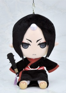 Hōzuki in plush strap form!