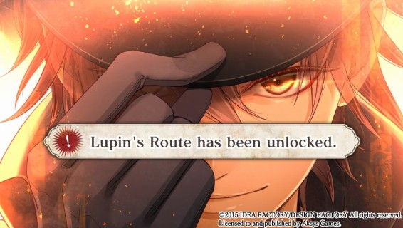 It's Lupin! 🎉